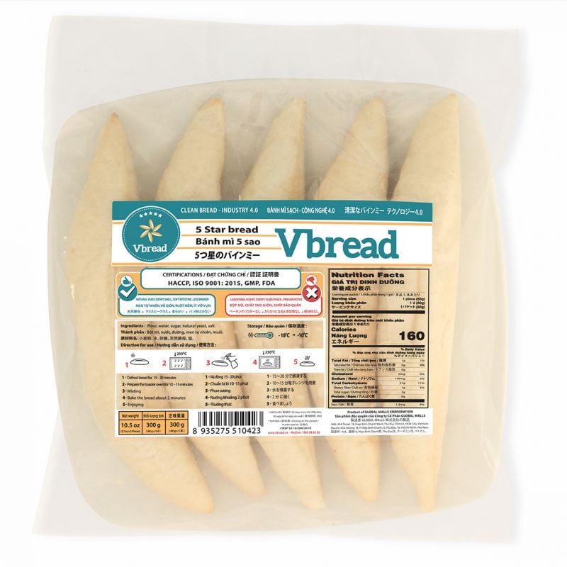 Bánh mì 5 sao VBread