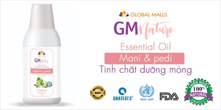 Tinh chất ngâm dưỡng bảo vệ, chăm sóc da và móng GMnature