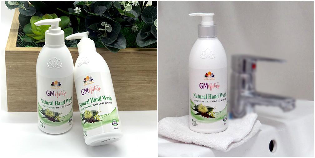 GMnature Natural Hand Wash - Tinh chất rửa chén có khả năng ức chế sự phát triển của E.Coli lên đến 99,9%